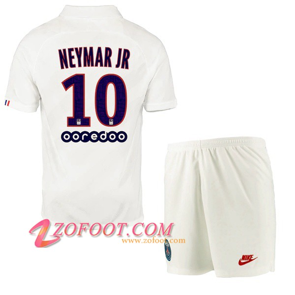 Maillot de Foot PSG (NEYMAR JR 10) Enfant Third 2019/2020