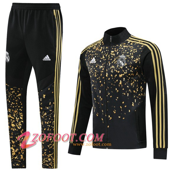 Ensemble Survetement de Foot - Veste Real Madrid Adidas × EA Sports™ FIFA 20 Noir 2019/2020