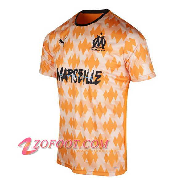 Training T-Shirts Marseille OM Jaune 2019/2020
