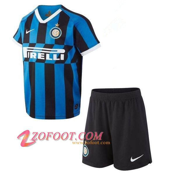 Ensemble Maillot + Short Inter Milan Enfants Domicile 2019/2020