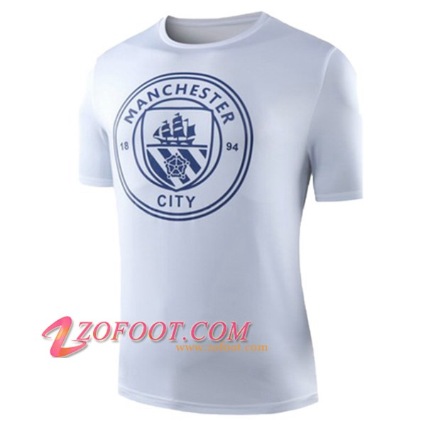 Training T-Shirts Manchester City Blanc 2019/2020