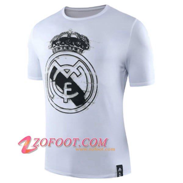 Training T-Shirts Real Madrid Blanc 2019/2020