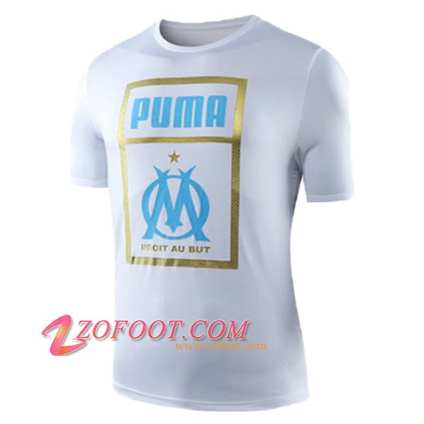 Training T-Shirts Marseille OM Rouge 2019/2020