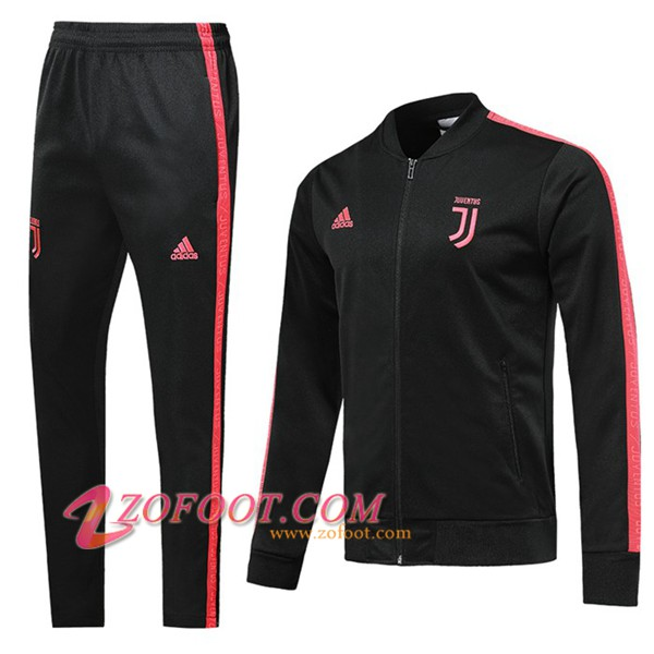 Ensemble Survetement Foot - Veste Juventus Noir 2019/2020