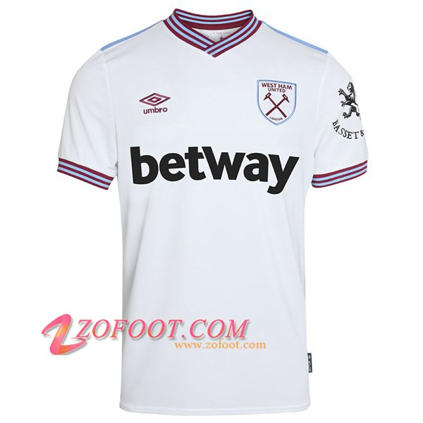 Maillot de Foot West Ham Exterieur 2019/2020