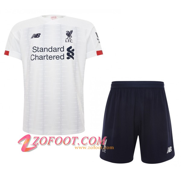 Ensemble Maillot + Short FC Liverpool Enfants Exterieur 2019/20
