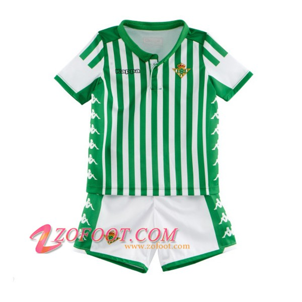 Ensemble Maillot + Short Real Betis Enfants Domicile 2019/20
