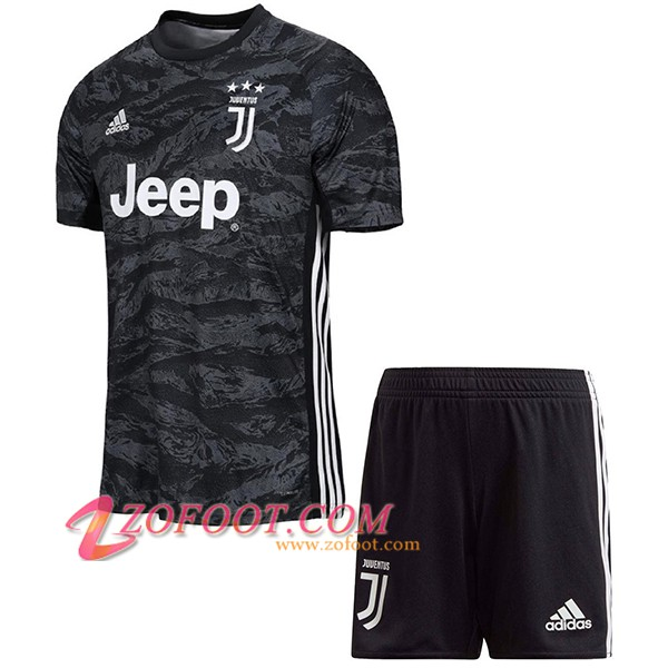 Ensemble Maillot + Short Juventus Enfants Gardien de but 2019/20