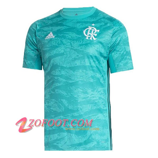Maillot de Foot Flamengo Gardien de but Bleu 2019/2020