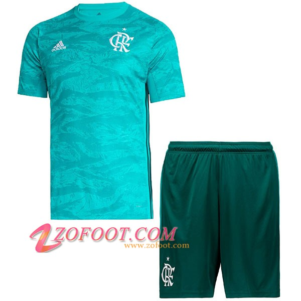 Maillot de Foot Flamengo Enfants Gardien de but Bleu 2019/2020
