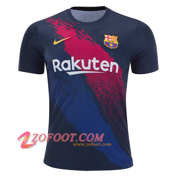 Training T-Shirts FC Barcelone Noir/Rouge 2019/2020