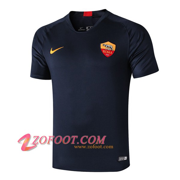 Training T-Shirts AS Roma Bleu Fonce 2019/2020