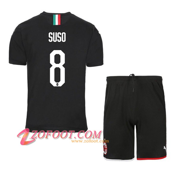 Ensemble Maillot + Short Milan AC (SUSO 8) Third 2019/2020