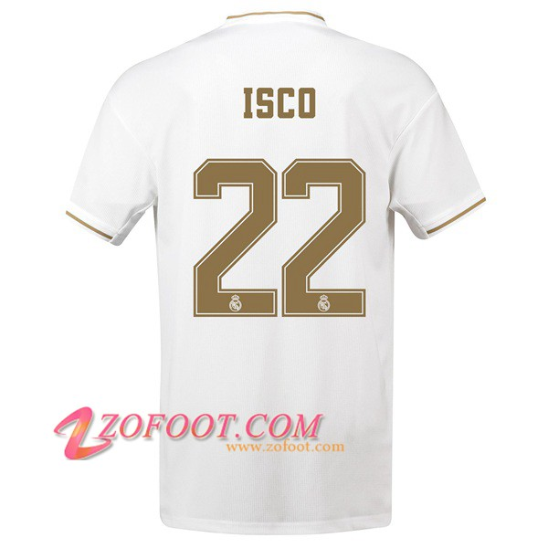 Maillot de Foot Real Madrid (ISCO 4) Domicile 2019/2020