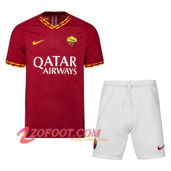 Ensemble Maillot + Short AS Roma Enfant Domicile 2019/2020