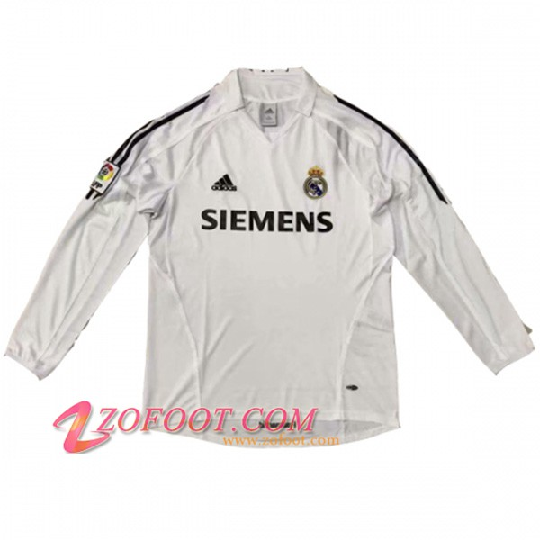 Maillot de Foot Real Madrid Manches longues Domicile 2005/2006