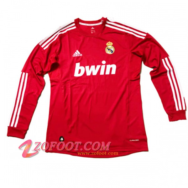 Maillot de Foot Real Madrid Manches longues Third 2011/2012