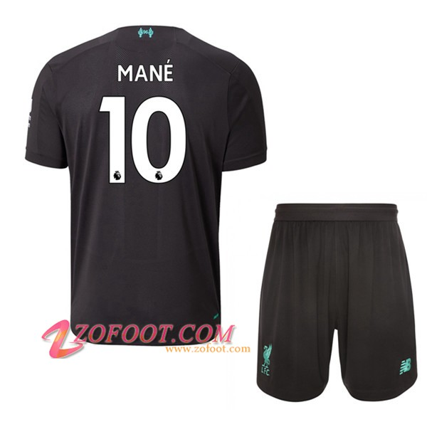 Maillot de Foot FC Liverpool (Mane 10) Enfant Third 2019/2020