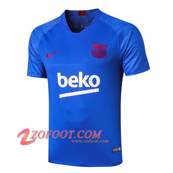 Training T-Shirts FC Barcelone Blue 2019/2020