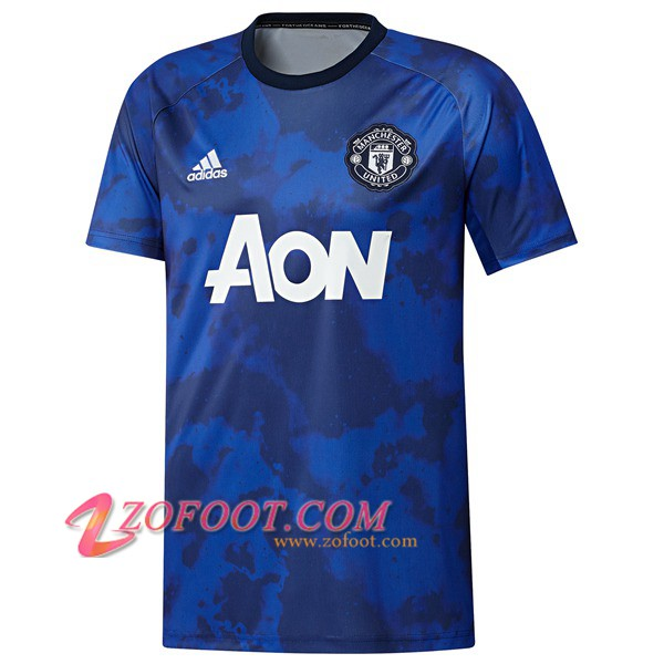 Training T-Shirts Manchester United Blue 2019/2020