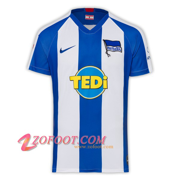 Maillot Foot Hertha BSC Domicile 2019/2020
