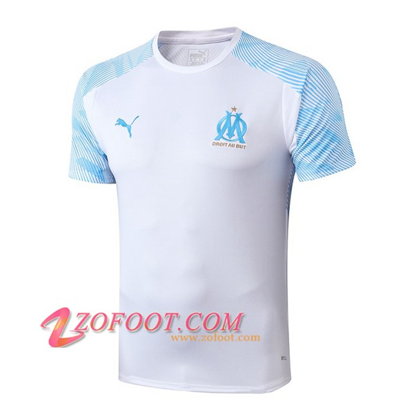 Training T-Shirts Marseille OM Blanc 2019/2020