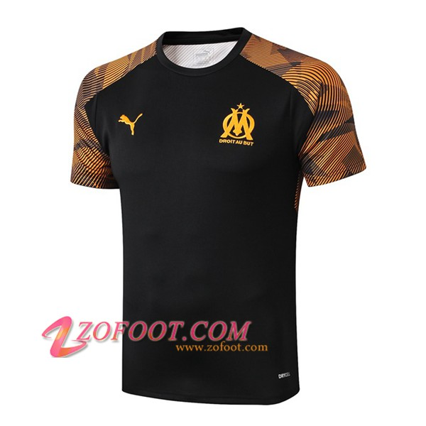 Training T-Shirts Marseille OM Noir 2019/2020