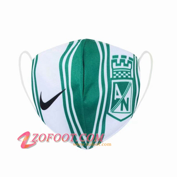 Atletico Nacional KN95 FFP2 Masques Reutilisable