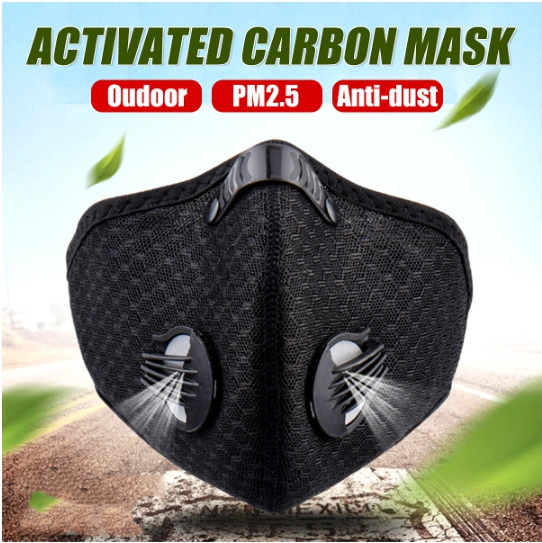 Masque Anti Pollution Go Sport Particules Fines Vélo
